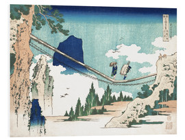 Foam board print  Minister Toru, from the series Poems of China and Japan - Katsushika Hokusai