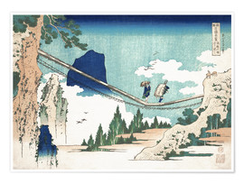 Premium poster  Minister Toru, from the series Poems of China and Japan - Katsushika Hokusai