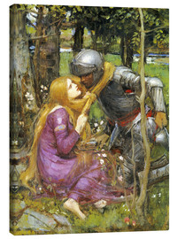 Canvas print  A study for La Belle Dame sans Merci - John William Waterhouse