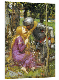 Forex  A study for La Belle Dame sans Merci - John William Waterhouse