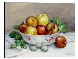 Aluminium print  Still Life with a Pomegranate - Pierre-Auguste Renoir