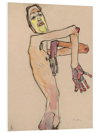 Forex  Nude with crossed arms - Egon Schiele
