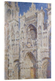 Acrylic glass  Cathedral afternoon - Claude Monet