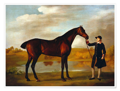 Premium poster Horse of the Duke of Marlborough