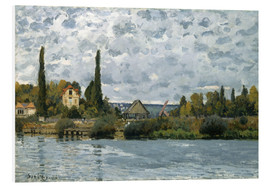 Forex  The Seine at Bougival - Alfred Sisley