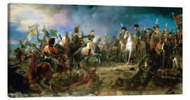 Canvas print  The Battle of Austerlitz - François Pascal Simon Gerard