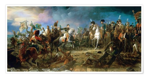 Premium poster The Battle of Austerlitz