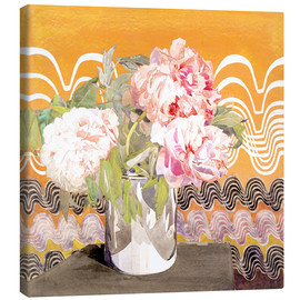 Canvas print  Peonies - Charles Rennie Mackintosh