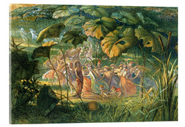 Acrylic print  Fairy Dance in a Clearing - Richard Doyle