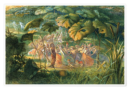 Premium poster  Fairy Dance in a Clearing - Richard Doyle