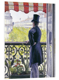 Forex  Man on a balcony - Gustave Caillebotte