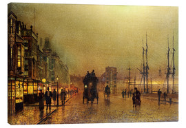 Canvas  Glasgow - John Atkinson Grimshaw