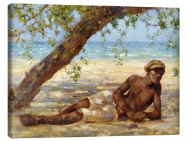 Canvas  Samuel under a Tree - Henry Scott Tuke