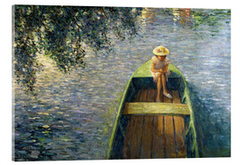 Acrylic print  The Boat on the Marne - Henri Lebasque