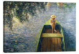 Canvas print  The Boat on the Marne - Henri Lebasque