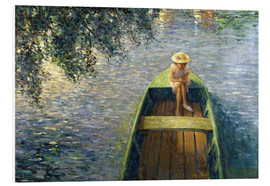 Foam board print  The Boat on the Marne - Henri Lebasque