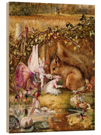 Wood  The Wounded Squirrel - John Anster Fitzgerald