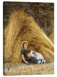Canvas print  Past Work - Helen Allingham