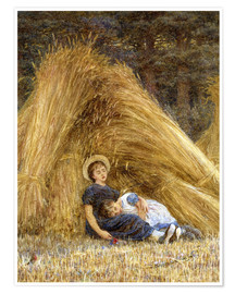 Premium poster  Past Work - Helen Allingham