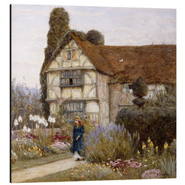 Aluminium print  Old Manor House - Helen Allingham