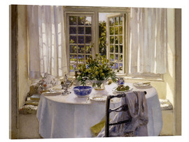 Acrylic glass  The Morning Room, 1916 - Patrick William Adam