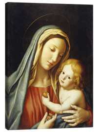 Canvas print  The Madonna with child - Il Sassoferrato