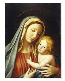 Premium poster The Madonna with child