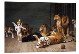 Acrylic print  Whoever you are, Here is your Master - Jean Leon Gerome