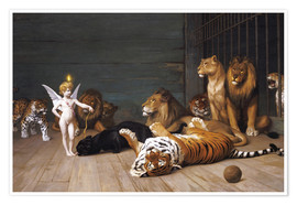 Premium poster  Whoever you are, Here is your Master - Jean Leon Gerome