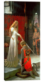Canvas  The Accolade - Edmund Blair Leighton