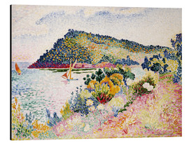 Aluminium print  The Black Cape, Pramousquier Bay - Henri Edmond Cross
