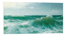Foam board print  A breaking wave, 1894 - David James