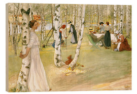 Wood  Breakfast in the Open - Carl Larsson