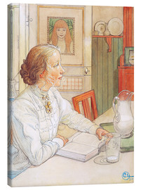Canvas print  My Eldest Daughter - Carl Larsson
