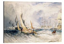 Aluminium print  Gosport: The Entrance to Portsmouth Harbour - Joseph Mallord William Turner
