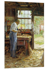 Forex  Village Carpenter - Edward Henry Potthast