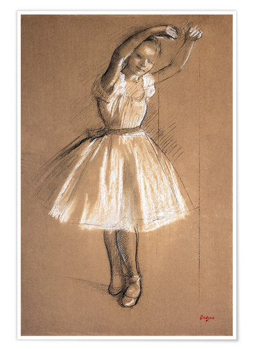 Premium poster Small dancer