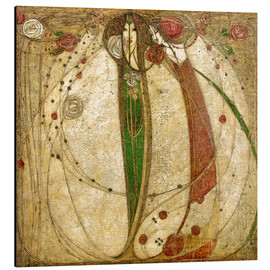 Margaret MacDonald Mackintosh - The White Rose and the Red Rose
