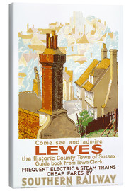 Canvas print  Come see and admire Lewes - Gregory Brown