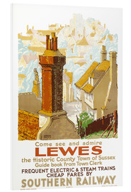 Foam board print  Come see and admire Lewes - Gregory Brown