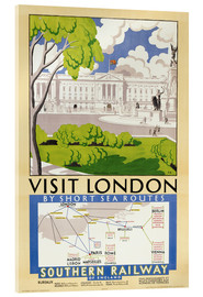 Acrylic print  Visit London - English School
