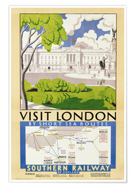 Premium poster  Visit London - English School