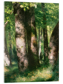 Acrylic glass  In the Forest of Fontainebleau - Pierre-Auguste Renoir