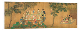 Forex  Scholars' Gathering in a Bamboo Garden - Chinese School