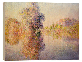 Claude Monet - Morning on the Seine at Giverny