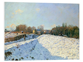 Forex  Snow at Argenteuil - Alfred Sisley