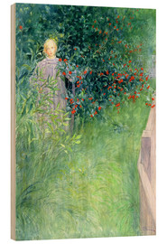 Wood  In the Hawthorn Hedge - Carl Larsson