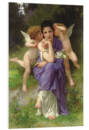 Forex  Chansons de Printemps, 1889 - William Adolphe Bouguereau