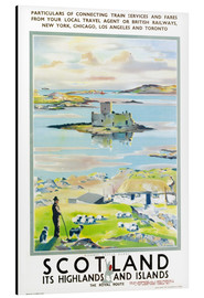 Aluminium print  Scotland, it's Highlands and Islands - Scottish School