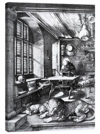 Canvas print  St. Jerome in his Study - Albrecht Dürer